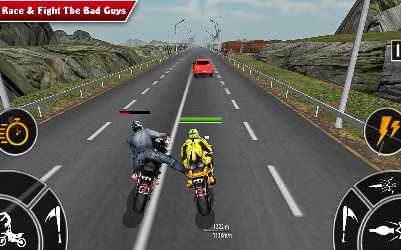 Futuristic Bike Game like Tron online free 3D neon games