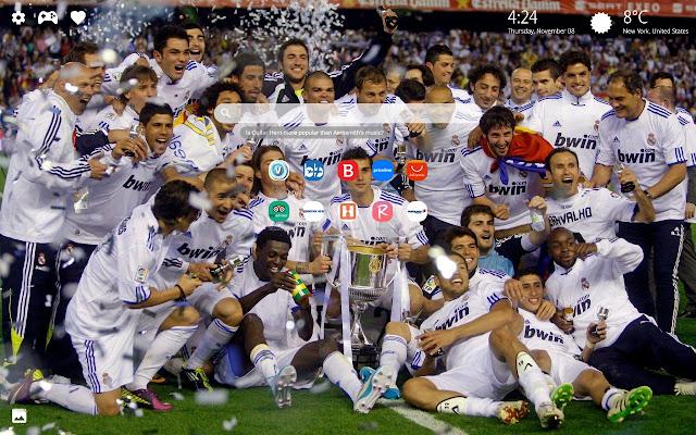 FC Real Madrid HD Wallpapers New Tab