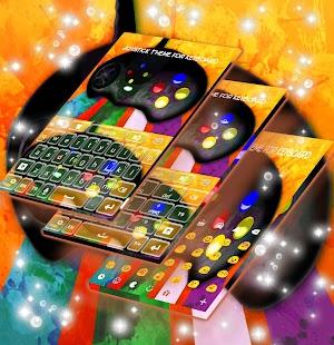 Joystick Téma pro Keyboard - náhled