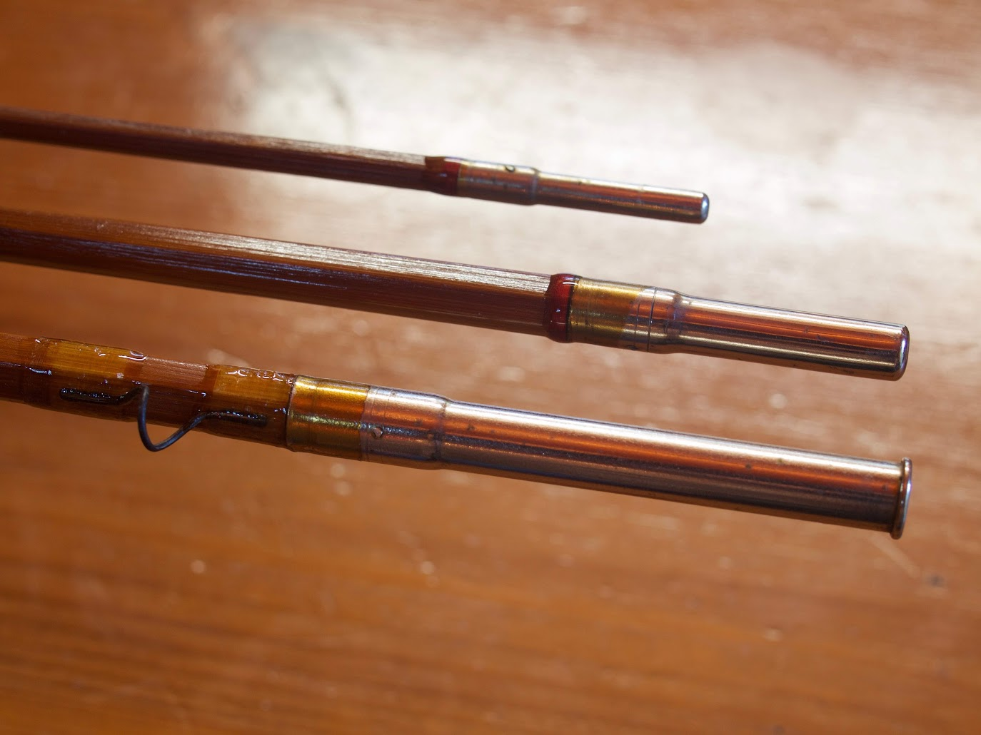 "Sport King Bamboo Fly Rod 3pc. 8'7"" (Restored)"