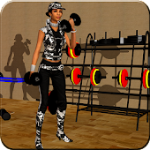 Girls Fitness Workout Gym: Gym Workout Games