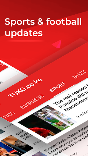 Kenya News: TUKO Hot & Breaking News Free App 9.1.12 screenshots 7