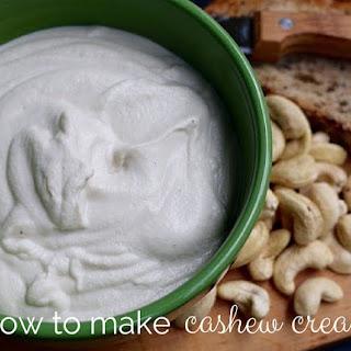How to Make Cashew Cream.