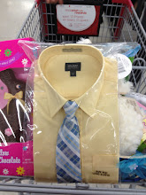 Photo: I decided to explore the store and found this adorable little shirt and tie combo for my youngest daughter (a stylish tomboy) for Easter.  $14.99 -- can't argue with that.