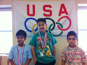 Photo: Badminton Hadi (G) Musab (S) Zareb (B)