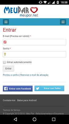 MeuPar - Namoro e Amizade - screenshot