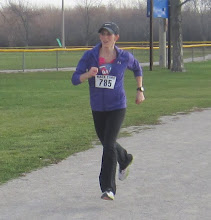 Photo: Hear she comines Ms # 785 sees the finish line and is running hard