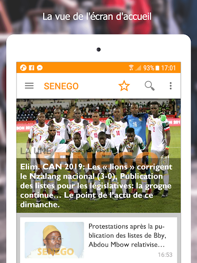 Senego: News in Senegal  screenshots 6