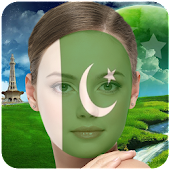 Pakistan Flag Profile Picture Frame : Face Editor