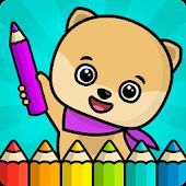 Tải Game Tô màu cuốn sách cho trẻ em và trẻ mới biết đi