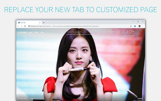 BLACKPINK Jisoo Wallpaper HD Custom New Tab