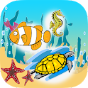 Spelling Words Sea Animal icon