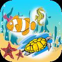 Spelling Words Sea Animal icon