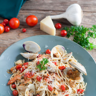 Pasta With Seafood Medley Recipes.