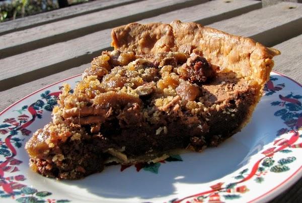 Chocolate Pecan Chess Pie Recipe