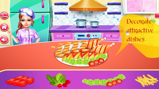 Cooking Chicken Wings- Cooking Diary- Star Chef 1.0 screenshots 2