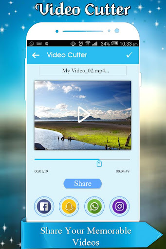 Video Cutter and Trimmer for WhatsApp 1.0 screenshots 5