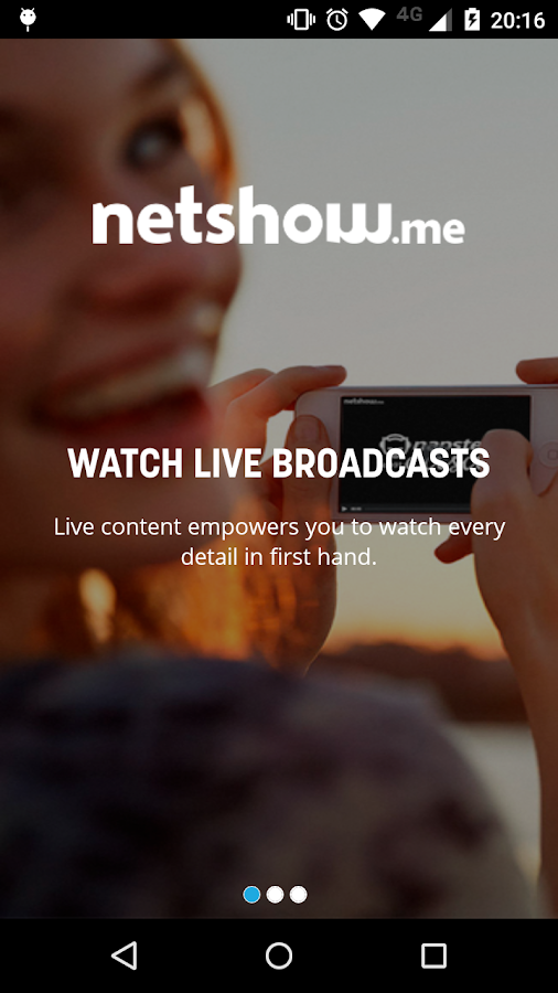 Netshow.me- screenshot