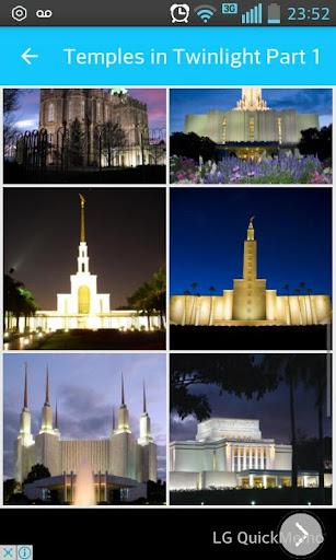 LDS Temple Wallpaper Screenshot 1