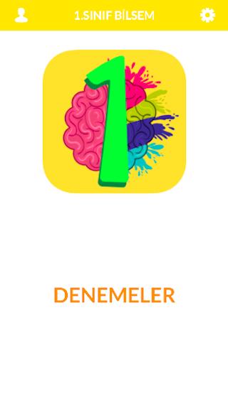 1.Sınıf Bilsem Sınavı Android App Screenshot