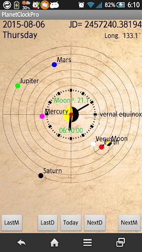 Planet Clock Pro