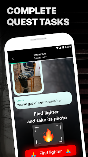 Mustread Chat Story: Scary Stories, Ghost Stories - screenshot