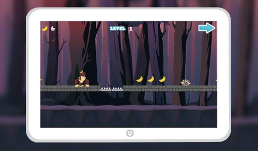 Monkey Jungle Run Dash screenshot 2