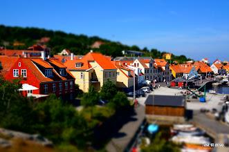 Photo: Gudhjem harbour