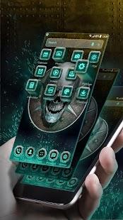 Metal Skull Launcher Theme 2018 - náhled