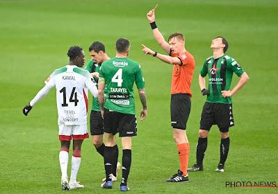 Kevin Hoggas suspendu contre Ostende
