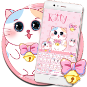 Pink Cute kitty