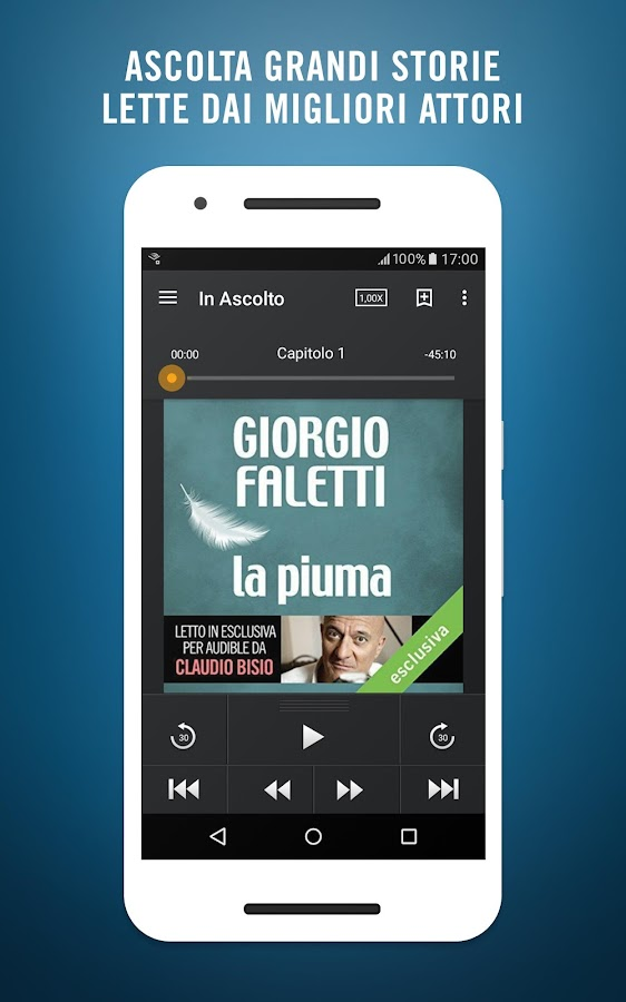 Audiobook & Audiolibri Audible- screenshot