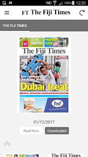 The Fiji Times- screenshot thumbnail
