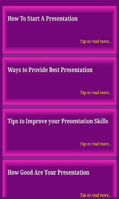 Presentation Skills - screenshot