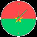 Burkina Faso Clock Widget icon