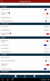 AFA Action Voter Guide- screenshot thumbnail