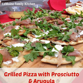 Grilled Pizza with Prosciutto & Arugula