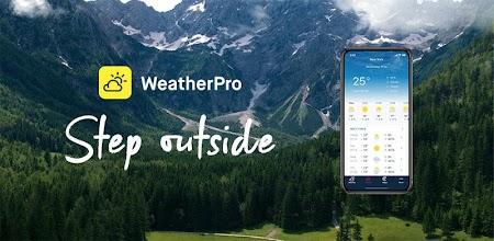 WeatherPro: Forecast, Radar & Widgets APK poster