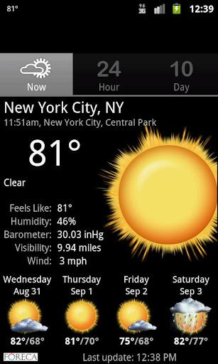Palmary Weather screenshot 7