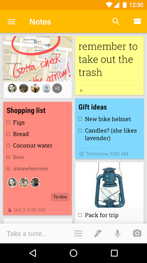 how to add muttiple items to google shopping list