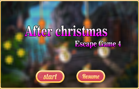Free New Escape Game After Christmas Escape Game 4 1