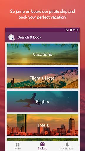 TravelPirates Top Travel Deals 3.2.6 screenshots 5