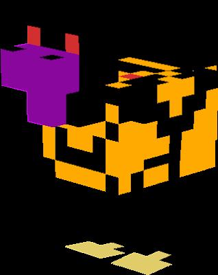 chicken herobrine