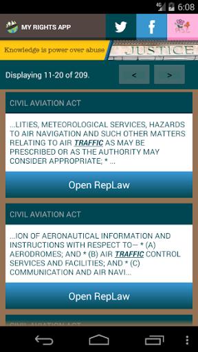 Zimbabwe Laws App  screenshots 7