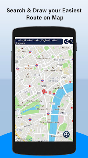 GPS Maps, Voice Navigation & Area Measurement  screenshots 4