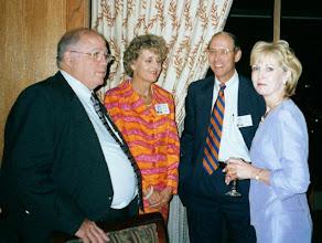 Photo: Frank Lichtenstein, Susan Palmer, Pat Palmer, Jenny (Barton)Lichtenstein