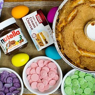 Easter Egg Angel Food Cake Pops