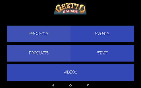 Ghetto Garage.com- screenshot thumbnail