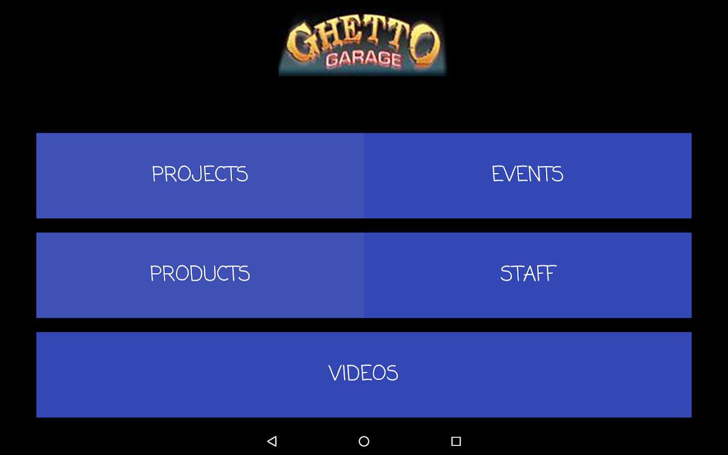 Ghetto Garage.com- screenshot