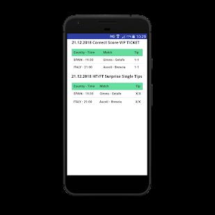 HT/FT Fixed Matches 99% VIP Screenshot